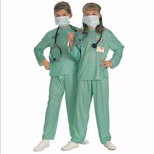 🆕 Rubie's ER DOCTOR Child Costume Unisex L 12-14